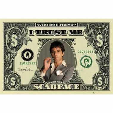 Scarface maxi poster dollar 61 x 91,5 cm