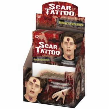 Scars plak tattoo stickers