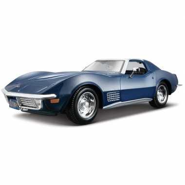 Schaalmodel chevrolet corvette 1970 1:24