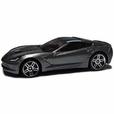 Schaalmodel chevrolet corvette 2014 1:43 grijs