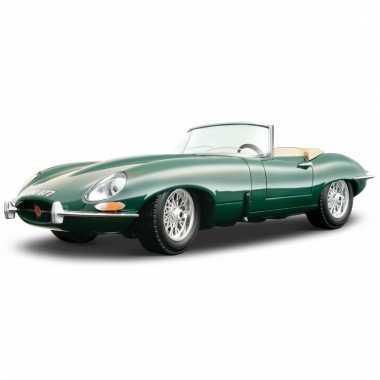 Schaalmodel jaguar e-type cabrio 1:18