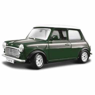 Schaalmodel mini cooper 1969 1:24