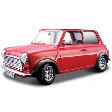 Schaalmodel mini cooper 1969 1:32