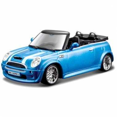 Schaalmodel mini cooper s cabrio 1:32