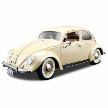 Schaalmodel volkswagen kever 1955 1:18