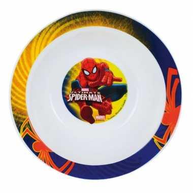Schaaltje spiderman 16 cm