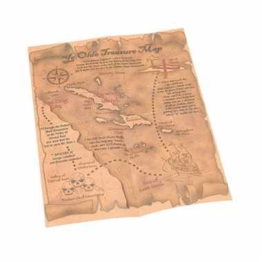 Schatkaart piraat