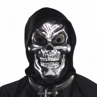 Schedel 3d maskers zilver
