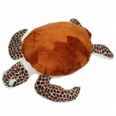 Schildpad pluche knuffeltje 43 cm
