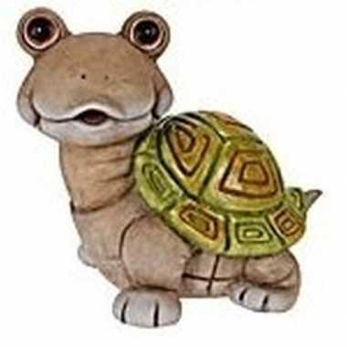 Schildpadden tuinbeeld 33 cm