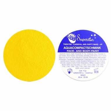 Schmink in de kleur geel