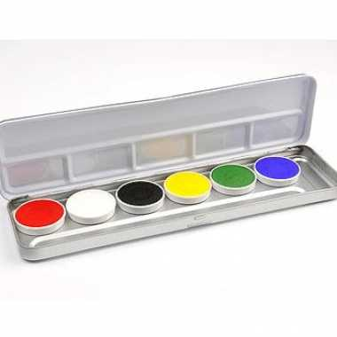 Schminkset met 6 kleuren