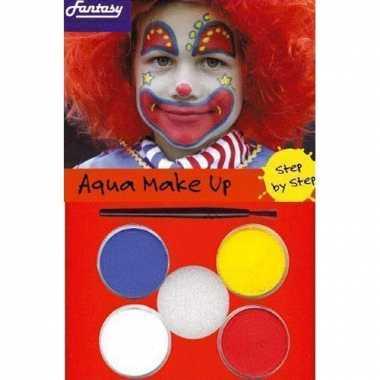Schminksetje clown