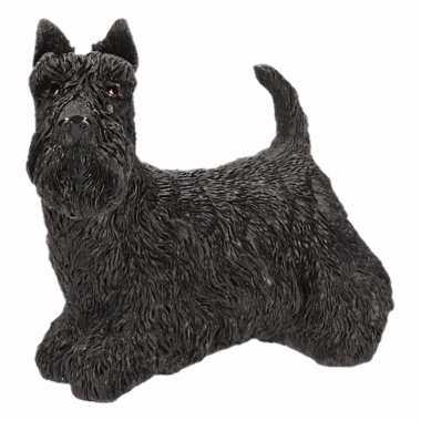 Schotse terrier decoratie beeldje 13 cm