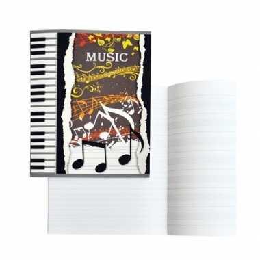 Schrift voor muziek a5 36 pagina