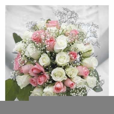Servetten bloemen thema 3-laags 20 stuks