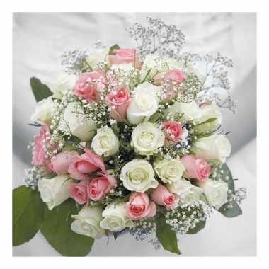 Servetten bloemen thema 3-laags 40 stuks