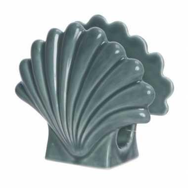 Servetten houder schelpje 12 x 13 cm