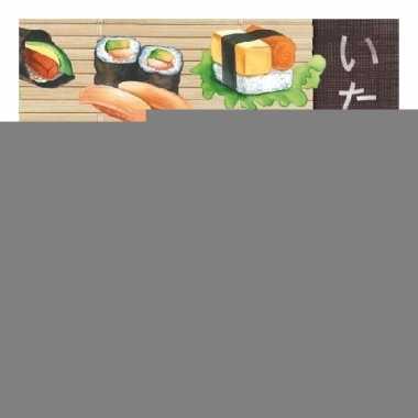 Servetten soorten sushi 3-laags 20 stuks