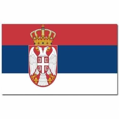 Servische vlag 90x150 cm
