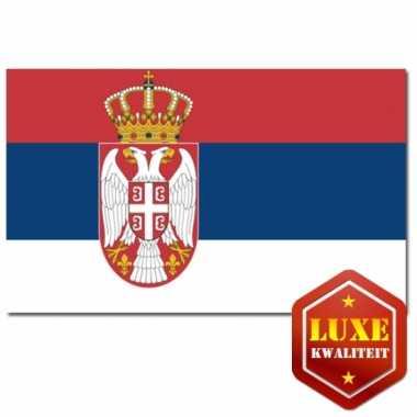 Servische vlaggen goede kwaliteit