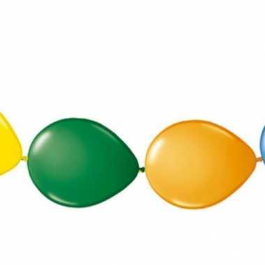 Set van 8 gekleurde knoopballonnen