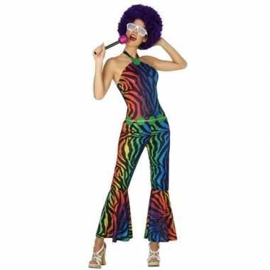 Seventies/disco outfit voor dames