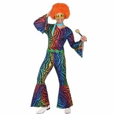 Seventies/disco outfit voor heren