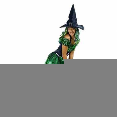 Sexy groene heksenjurk