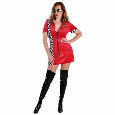 Sexy rood race jurkje