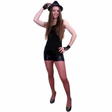 Sexy zwarte shorts voor dames