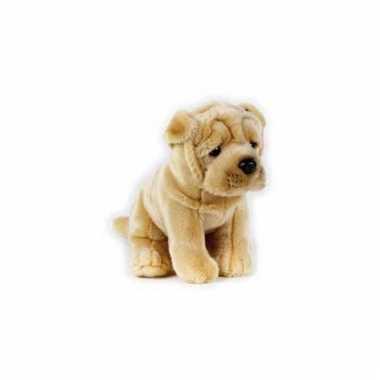 Sharpei puppy knuffel hond 20 cm