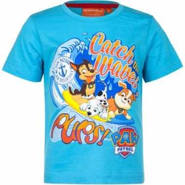 Shirt paw patrol blauw