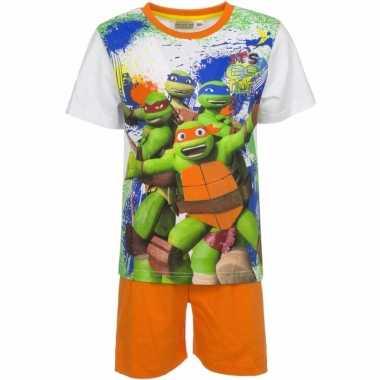 Shortama ninja turtles oranje