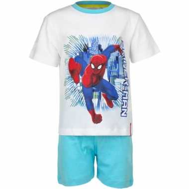 Shortama spiderman wit