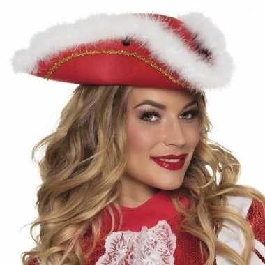 Showdans rode hoed voor dames