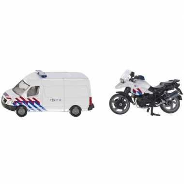 Siku 1655 speelgoedauto/modelauto nederlandse politie/reddingsdienst
