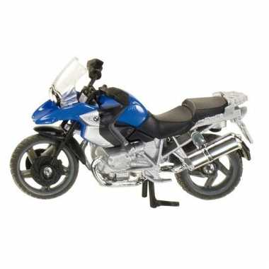 Siku bmw motor blauw r1200 model 1047