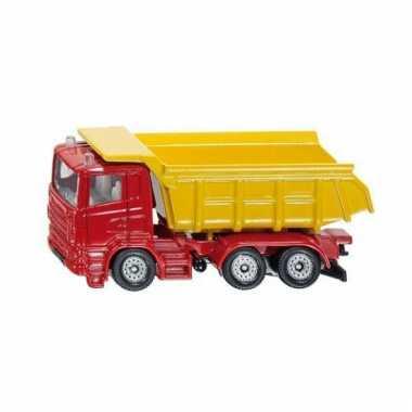 Siku kiepwagen rood modelauto 1075