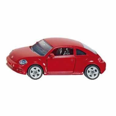 Siku volkswagen beetle rood modelauto 1417