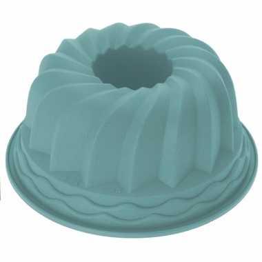 Siliconen tulbandvorm mint kleurig 24 cm