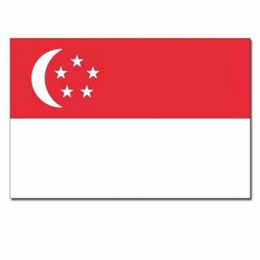 Singaporese vlag 90x150 cm