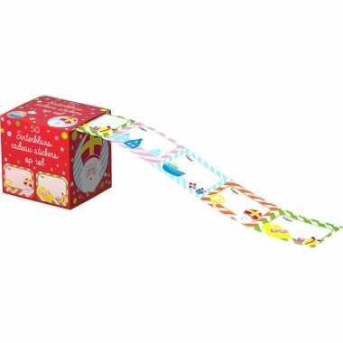 Sinterklaas cadeau etiketten 100 stuks