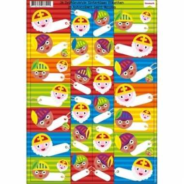 Sinterklaas cadeau etiketten 26 stuks