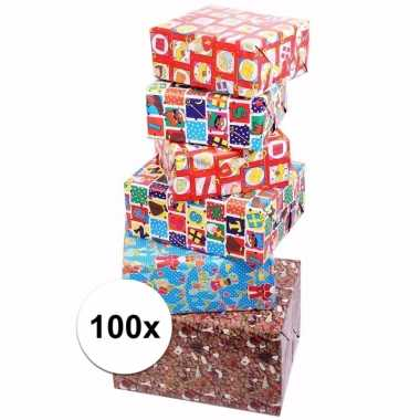 Sinterklaas inpakpapier 100 rollen
