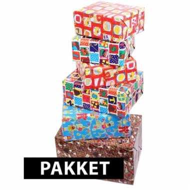 Sinterklaas inpakpapier pakket
