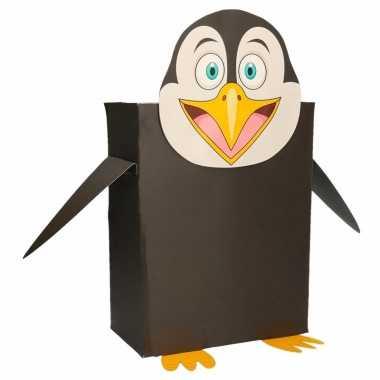 Sinterklaas surprise pinguin diy pakket