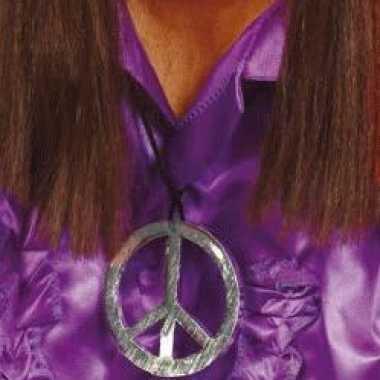 Sixties peace ketting