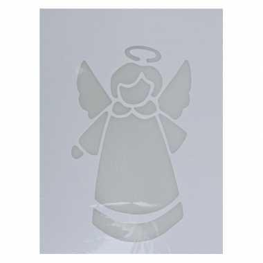 Sjabloon kerst engel type 2 35 cm