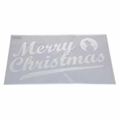 Sjabloon merry christmas 54 cm type 2